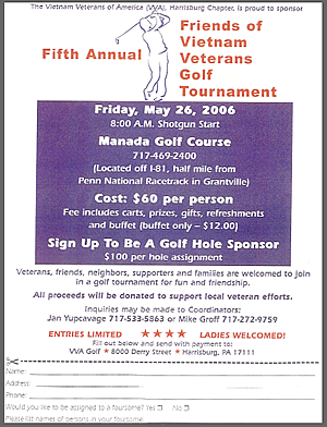 VVA Golf Outing